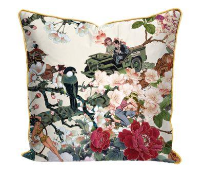 Save Empress wu' printed Satin Cushion Save Empress wu' printed Satin Cushion