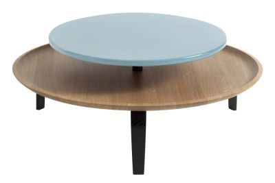 Secreto Coffee Table Black, Blue, High