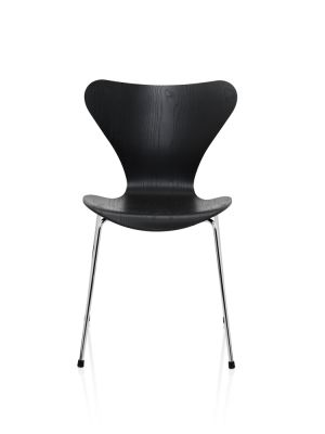 Series 7 Chair Coloured Ash Black 195
