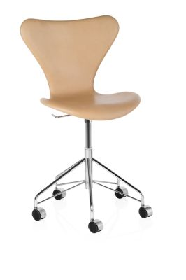 Series 7 Swivel Chair - fully upholstered Natural Leather