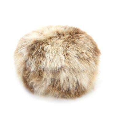 Sheepskin Baa Pouffe in Rare Breed