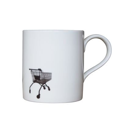 Shopping Trolley Mug