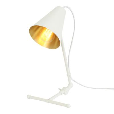 Sima Table Lamp Powder Coated White