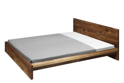 SL02 Mo Bed Oiled Walnut, 80 cm Headboard, King Size