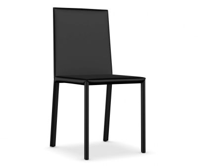 Slim Chair with High Back Cuoietto 500