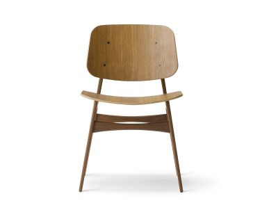 Soborg chair, wooden frame Oak smoked stained