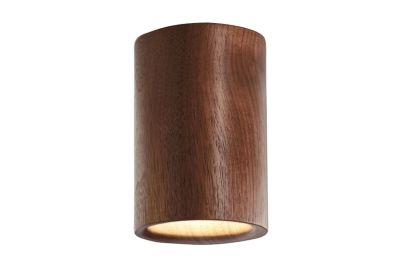 Solid Cylinder Downlight Walnut