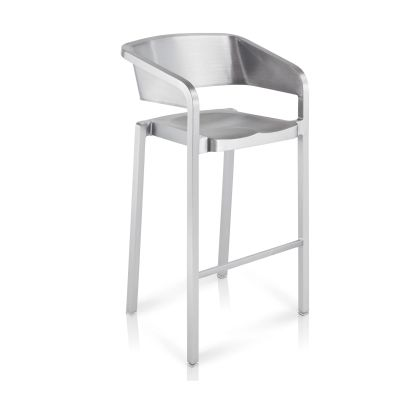 Soso Bar Stool Hand-Brushed