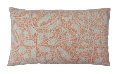 Sounds Around Long Cushion Orange