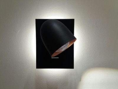 Speers Wall Light 2L, Black Copper