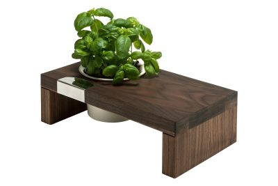 Spiceboard Two Planter Walnut