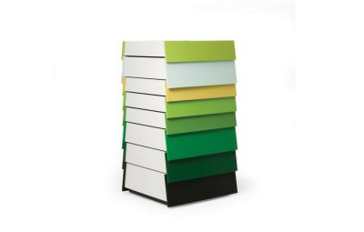 Stack Drawer - H108 Green Pallette