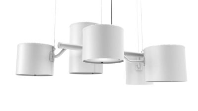 Statistocrat Pendant Light RAL 1004