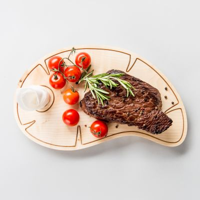 Steak Wooden Board