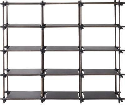Stick System Shelving, 3x5 Grey