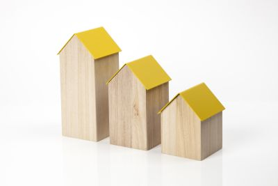 Storage House Small Yellow