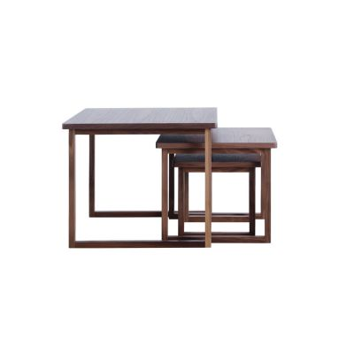 Strada Nest of Tables Walnut