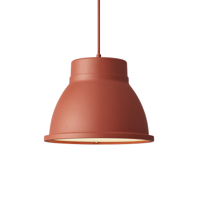 Studio Pendant Lamp Dusty Red
