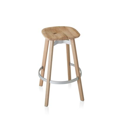 Su Bar Stool Natural Wood, Oak
