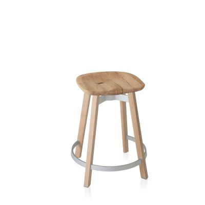 Su Counter Stool Natural Wood, Oak
