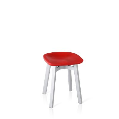 Su Stool Aluminium, Red
