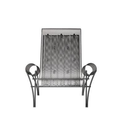 Suki Armchair Stainless Steel
