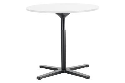 Super Fold Round Table White melamine