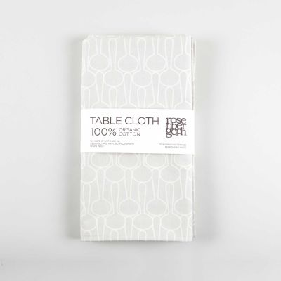 Table Cloth Big drop grey