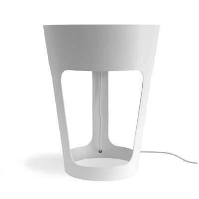 Taper LED table lamp White