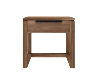 Teak Light Frame Night Stand