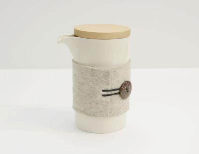 Teapod Mug Glossy White