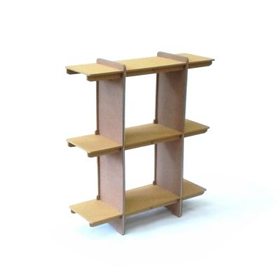 Tempo Shelving Unit Yellow