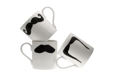 The Moustache Mugs Family