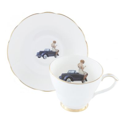 Thinking of You Teacup & Saucer