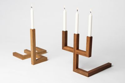 Three One Candlestick Black
