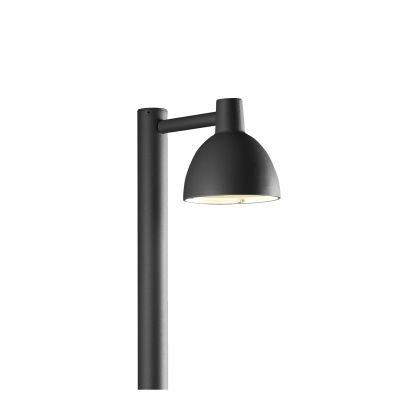 Toldbod 155 Outdoor Bollard Black
