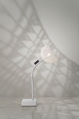 Trama T2 Floor Lamp White