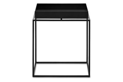 Tray Square Side Table Black, Small