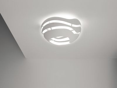 Tree Series Ceiling Lamp C50, Black-Gold, Halo