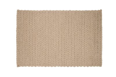 Trenzas Rug Taupe, 200x300 cm