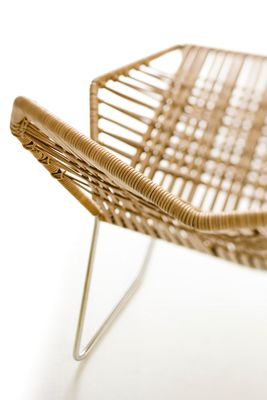 Tropicalia Armchair Silver, Artificial Leather
