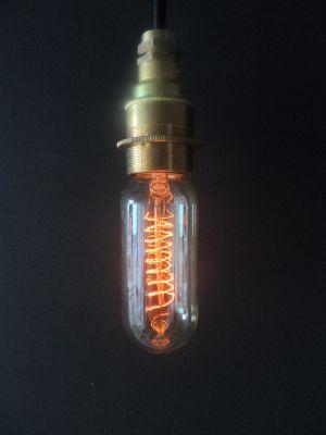 Tube Spiral Lightbulb
