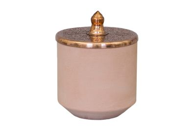 Tunisia Made Short Jar Copper