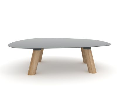 Turtle Table Medium Dark Grey