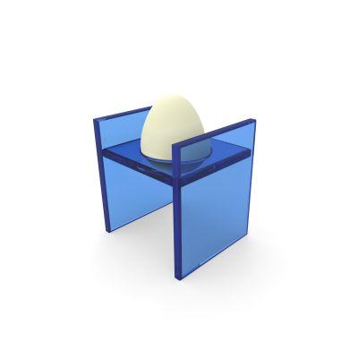 Uovo, eggrack Blue
