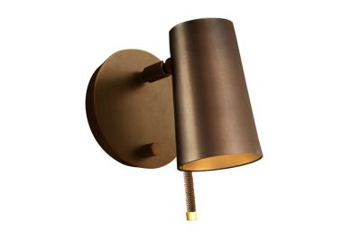 Up Wall Light Satin Bronze