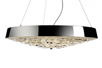 Valentin Flat Pendant Light Gold