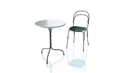 Vigna Stacking Chair - Set of 2 Matt Warm Grey