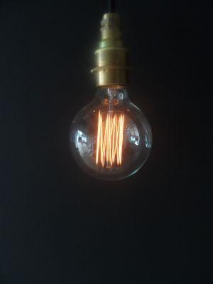 Vintage Cage Globe G95 Lightbulb