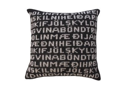 Virtue Cushion Cover Black